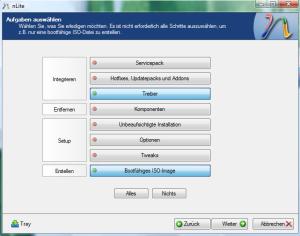 Erstellen der Setup-CD mit nLite